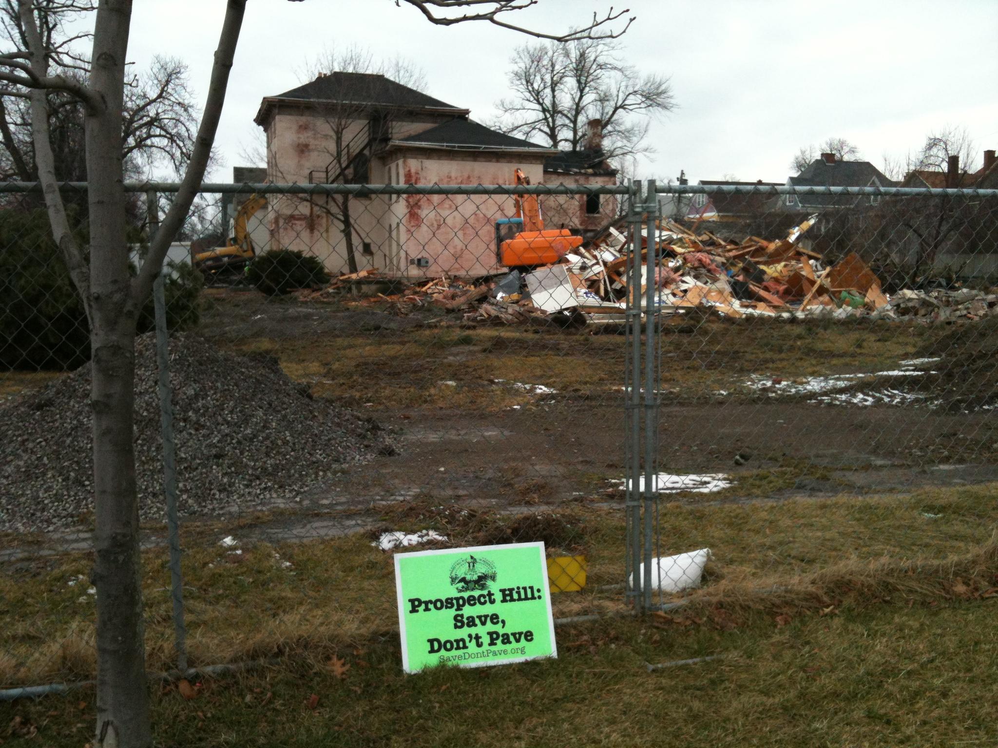 Wilkeson House awaits her fate.