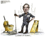 Cleaning up Albany